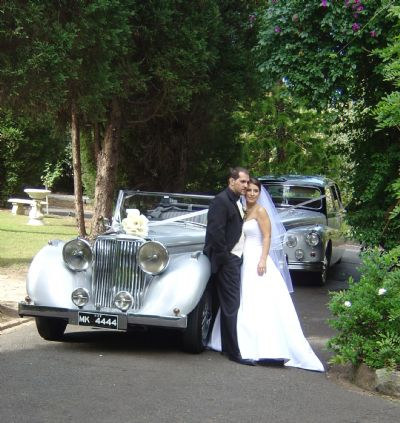 Couple Saves Thousands, Enough To Hire Their Dream Classic Wedding Car
