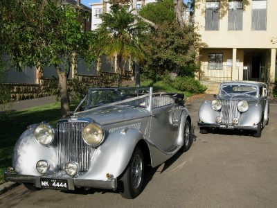 Jaguar MK4 Convertible and Sedan - Here is our stunning Jaguar MK4 Convertible and Sedan which are both exclusive to Classic Bridal Cars.