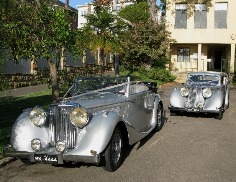 Classic Wedding Car Choice