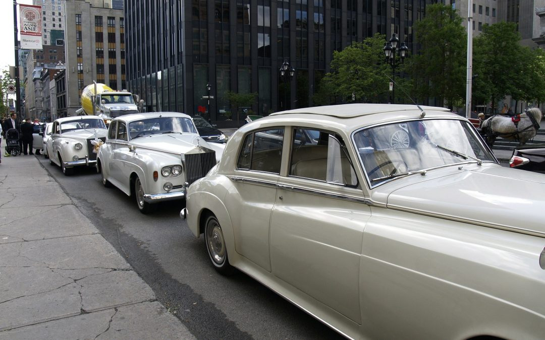 Classic Wedding Cars Hired By Celebrities